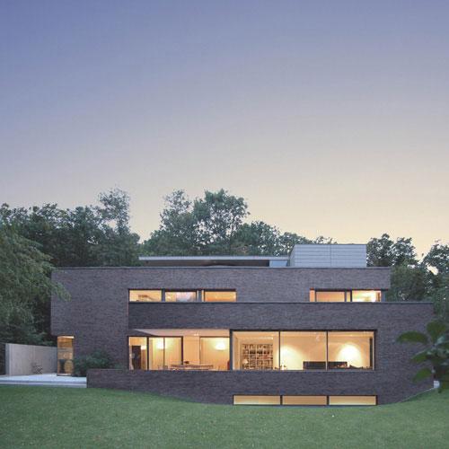 Architekten Krefeld wohnhaus krefeld bastian architekten bda