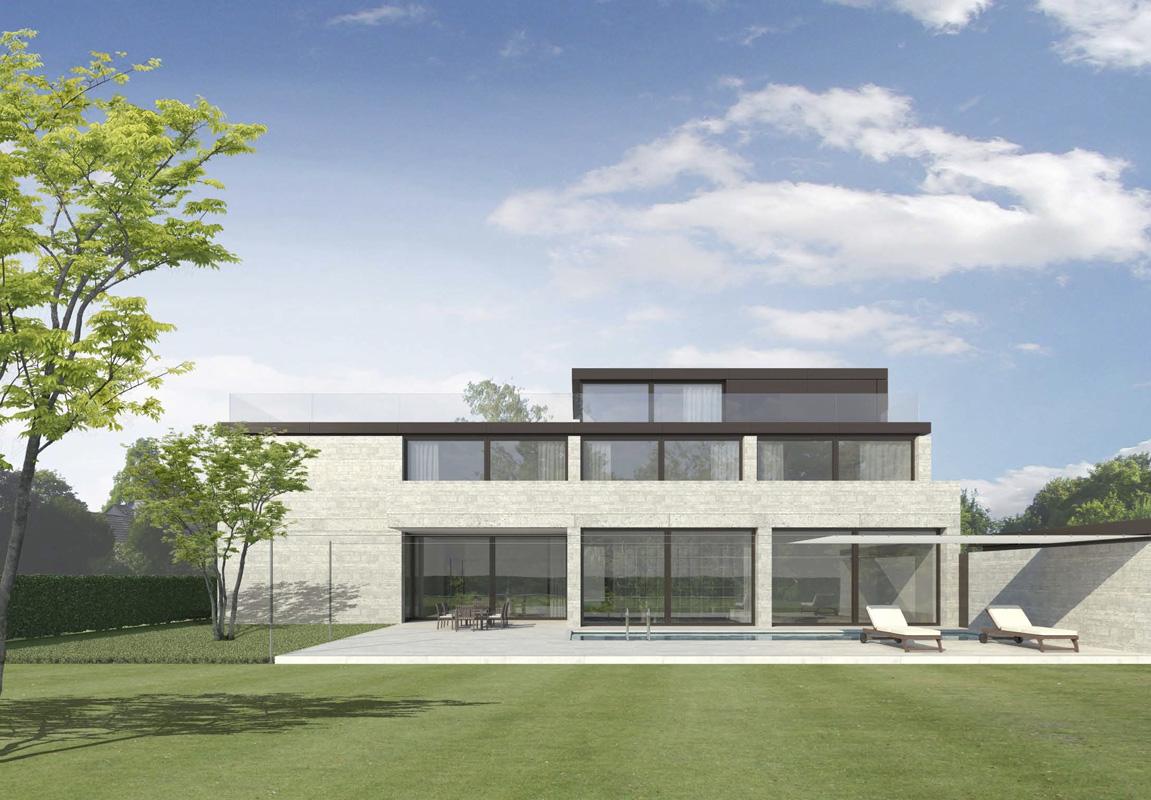 wohnhaus m nster peter bastian architekten bda. Black Bedroom Furniture Sets. Home Design Ideas