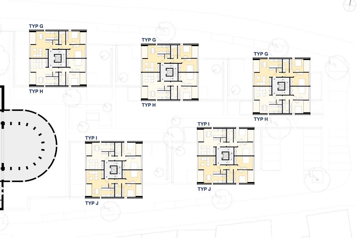 erl uterungen zum entwurf peter bastian architekten bda. Black Bedroom Furniture Sets. Home Design Ideas