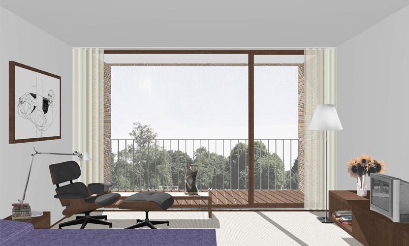 seniorenzentrum borken peter bastian architekten bda. Black Bedroom Furniture Sets. Home Design Ideas